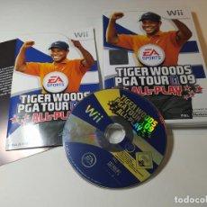 Videojuegos y Consolas: TIGER WOODS PGA TOUR 09 ( NINTENDO WII - WII U - PAL - ESP). Lote 268918949
