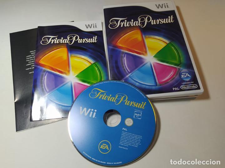 TRIVIAL PURSUIT ( NINTENDO WII - WII U - PAL - ESP) (Juguetes - Videojuegos y Consolas - Nintendo - Wii)