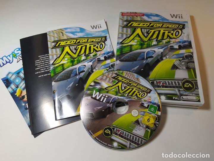 NEED FOR SPEED NITRO ( NINTENDO WII - WII U - PAL - ESP) (Juguetes - Videojuegos y Consolas - Nintendo - Wii)
