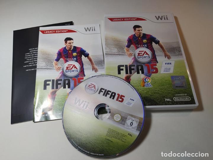 FIFA 15 ( NINTENDO WII - WII U - PAL - ESP) (Juguetes - Videojuegos y Consolas - Nintendo - Wii)
