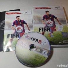Videojuegos y Consolas: FIFA 15 ( NINTENDO WII - WII U - PAL - ESP). Lote 268919234