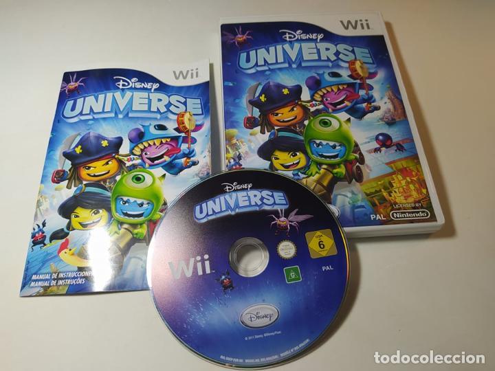 DISNEY UNIVERSE ( NINTENDO WII - WII U - PAL - ESP) (Juguetes - Videojuegos y Consolas - Nintendo - Wii)