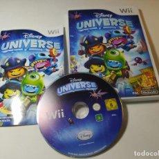 Videogiochi e Consoli: DISNEY UNIVERSE ( NINTENDO WII - WII U - PAL - ESP). Lote 268919264