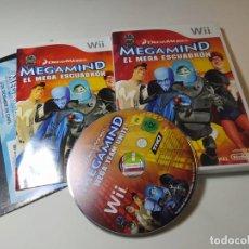 Videojuegos y Consolas: MEGAMIND ( NINTENDO WII - WII U - PAL - ESP). Lote 268919404