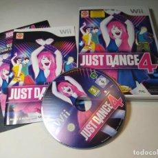 Videojuegos y Consolas: JUSTA DANCE 4 ( NINTENDO WII - WII U - PAL - ESP). Lote 268919439