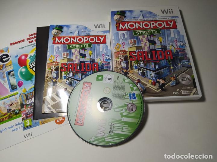 MONOPOLY STREETS ( NINTENDO WII - WII U - PAL - ESP) (Juguetes - Videojuegos y Consolas - Nintendo - Wii)