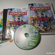 Videojuegos y Consolas: MONOPOLY STREETS ( NINTENDO WII - WII U - PAL - ESP). Lote 268920064
