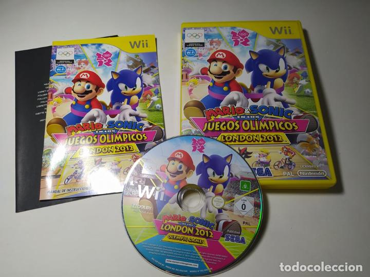 MARIO & SONIC JJOO LONDON 2012 ( NINTENDO WII - WII U - PAL - ESP) (Juguetes - Videojuegos y Consolas - Nintendo - Wii)