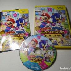 Videojuegos y Consolas: MARIO & SONIC JJOO LONDON 2012 ( NINTENDO WII - WII U - PAL - ESP). Lote 268920099
