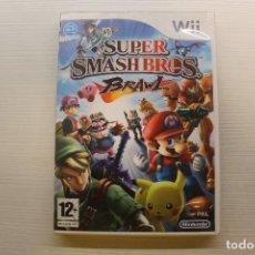 Videojuegos y Consolas: WII, SUPER SMASH BROS BRAWL. Lote 269158883