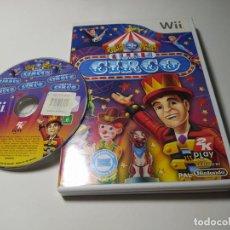 Jeux Vidéo et Consoles: VAMOS AL CIRCO ( NINTENDO WII - WII U - PAL - ESP). Lote 269640158