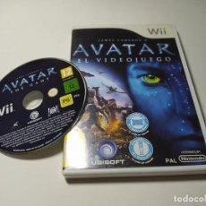 Videojuegos y Consolas: AVATAR : EL VIDEOJUEGO ( NINTENDO WII - WII U - PAL - ESP). Lote 269647363