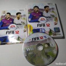 Videojuegos y Consolas: FIFA 12 ( NINTENDO WII - WII U - PAL - ESP). Lote 269647368
