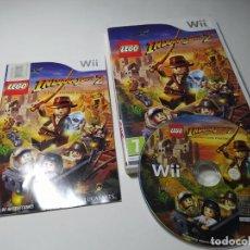 Videojuegos y Consolas: LEGO INDIANA JONES 2 ( NINTENDO WII - WII U - PAL - ESP). Lote 269647408