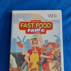 Videojuegos y Consolas: JUEGO FAST FOOD PANIC WII. Lote 269842418