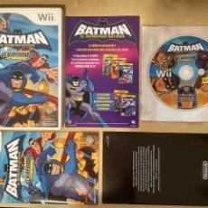 Videojuegos y Consolas: BATMAN EL INTREPIDO - PAL ESPAÑA (VOCES EN CASTELLANO) COMPLETO NINTENDO WII MULTIJUGADOR WAYFORWARD. Lote 269995288