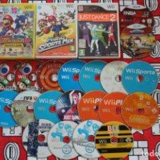 Videojuegos y Consolas: LIQUIDACION LOTE 23 JUEGOS NINTENDO WII / WII U LEER DESCRIPCION. Lote 270245433
