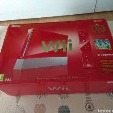 Videojuegos y Consolas: CAJA VACIA WII NEW SUPER MARIO BROS 25 ANIVERSARIO. Lote 270398143
