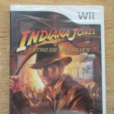 Videojuegos y Consolas: INDIANA JONES Y EL CETRO DE LOS REYES WII PAL ESPAÑA PRECINTADO. Lote 270943493