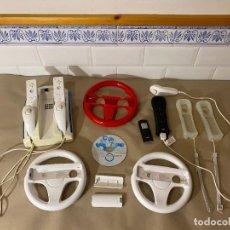 Videojuegos y Consolas: LOTE MARIO KART WII CON MANDOS. Lote 271068658