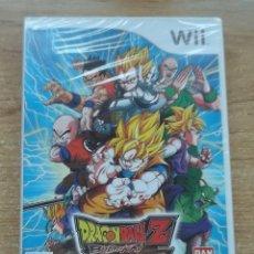 Videojuegos y Consolas: DRAGON BALL Z BUDOKAI TENKAICHI 2 WII PAL ESPAÑA PRECINTADO. Lote 271106208