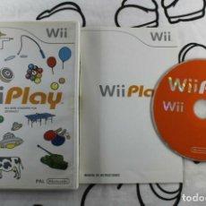 Videojuegos y Consolas: NINTENDO WII WII PLAY BUEN ESTADO PAL ESPAÑA. Lote 271571923