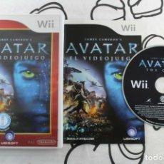Videojuegos y Consolas: NINTENDO WII JAMES CAMERON'S AVATAR SELECTS BUEN ESTADO PAL ESPAÑA. Lote 271573248