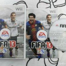 Videojuegos y Consolas: NINTENDO WII FIFA 13 MUY BUEN ESTADO PAL ESPAÑA. Lote 271573358