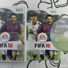 Videojuegos y Consolas: NINTENDO WII FIFA 10 MUY BUEN ESTADO PAL ESPAÑA. Lote 271573918