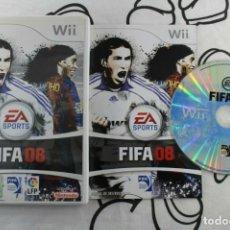 Videojuegos y Consolas: NINTENDO WII FIFA 08 MUY BUEN ESTADO PAL ESPAÑA. Lote 271574128