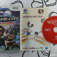 Videojuegos y Consolas: NINTENDO WII DESAFIO CINE PARTY SIN MANUAL PAL ESPAÑA. Lote 271574343