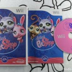 Videojuegos y Consolas: NINTENDO WII LITTLEST PET SHOP MUY BUEN ESTADO PAL UK. Lote 271575518