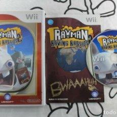 Videojuegos y Consolas: NINTENDO WII RAYMAN RAVING RABBIDS 2 SELECTS BUEN ESTADO PAL ESPAÑA. Lote 271575638
