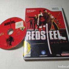 Videogiochi e Consoli: RED STEEL ( NINTENDO WII - WII U - PAL - ESP). Lote 273008888