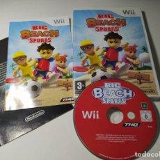 Videogiochi e Consoli: BIG BEACH SPORTS ( NINTENDO WII - WII U - PAL - ESP). Lote 273009748