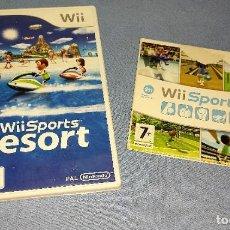 Videojuegos y Consolas: WII SPORTS Y SPORTS RESORT. Lote 274376773