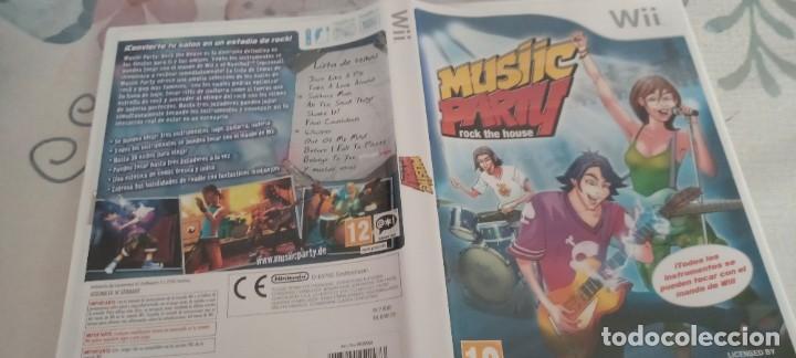 MUSIC ARTY ROCK THE HOUSE PAL ESP WII (Juguetes - Videojuegos y Consolas - Nintendo - Wii)