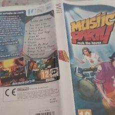 Videojuegos y Consolas: MUSIC ARTY ROCK THE HOUSE PAL ESP WII. Lote 274617508