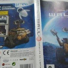Videojuegos y Consolas: WALL-E BATALLON DE LIMPIEZA NINTENDO WII PAL ESPAÑA COMPLETO. Lote 275616068