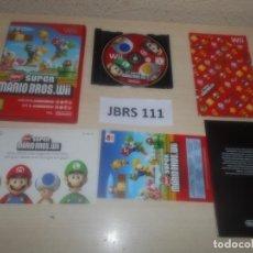 Videojuegos y Consolas: WII - NEW SUPER MARIO BROS WII , PAL ESPAÑOL , COMPLETO. Lote 275925193