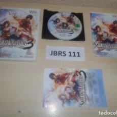Videojuegos y Consolas: WII - SAMURAI WARRIORS 3 ,PAL ESPAÑOL , COMPLETO. Lote 275925403