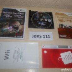 Videojuegos y Consolas: WII - MYSTERY CASE FILES - EL INCIDENTE ALLGRAVE , PAL ESPAÑOL , COMPLETO. Lote 275925668
