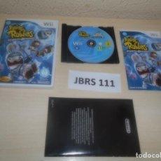 Videojuegos y Consolas: WII - RAVING RABBIDS - REGRESO AL PASADO , PAL ESPAÑOL , COMPLETO. Lote 275925798