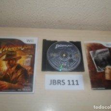Videojuegos y Consolas: WII - INDIANA JONES Y EL CETRO DE LOS REYES , PAL ESPAÑOL , COMPLETO. Lote 275925928