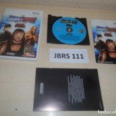Videojuegos y Consolas: WII - SMACKDOWN VS RAW 2008 , PAL ESPAÑOL , COMPLETO. Lote 275926193