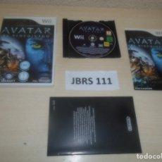 Videojuegos y Consolas: WII - AVATAR , PAL ESPAÑOL , COMPLETO. Lote 275926813