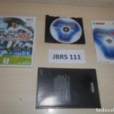 Videojuegos y Consolas: WII - PRO EVOLUTION SOCCER 2012 , PAL ESPAÑOL , COMPLETO. Lote 275927008
