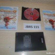 Videojuegos y Consolas: WII - COCOTO MAGIC CIRCUS , PAL ESPAÑOL , COMPLETO. Lote 275927243