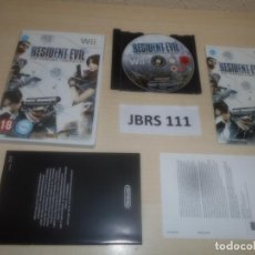 Videojuegos y Consolas: WII - RESIDENT EVIL - THE DARKSIDE CHRONICLES , PAL ESPAÑOL , COMPLETO. Lote 275927443