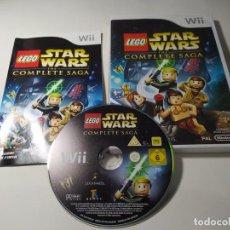 Videojuegos y Consolas: LEGO STAR WARS THE COMPLETE SAGA ( NINTENDO WII - WII U - PAL - EURO) CON ESPAÑOL! (1). Lote 276749718